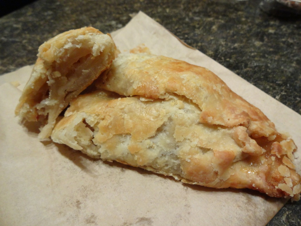 Victoria Pie Company Apple turnover Victoria BC 2